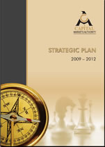 The CMA Stategic Plan 2009 - 2013